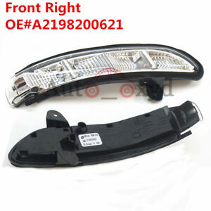 For Mercedes E G CLASS W221 Front Right Side Door Mirror Turn Signal Light Lamp