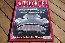 AUTOMOBILES CLASSIQUES n° 83 ASTON MARTIN DB4 GT ZAGATO - 4 COUPES TRES BON ETAT