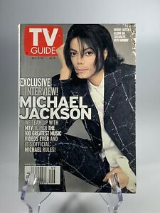 Michael Jackson TV Guide Dec 4 Thru 10 1999 MJ Very Awesome Collectible Magazine