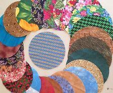 7 inch circles Accu machine cut  pack of 30 perfect for quilts, yo yo's