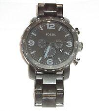 Men's Fossil Nate Chronograph Quartz Stainless Steel Wrist Watch - Model JR1401