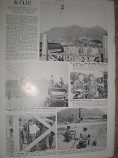 Photo article on Koje Island prison camp Korea 1952  refO50s