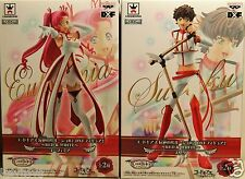 Banpresto Code Geass Lelouch of Rebellion Red & White Suzaku Euphemia Figure DXF