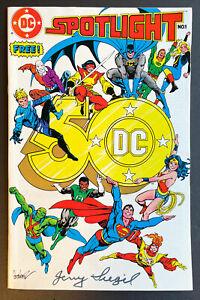 DC Spotlight #1 (1985) Jerry Siegel autograph, first Watchmen appearance