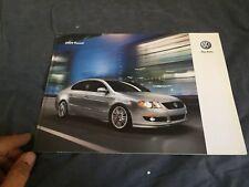 2009 VW Volkswagen Jetta USA Market Brochure Catalog Prospekt