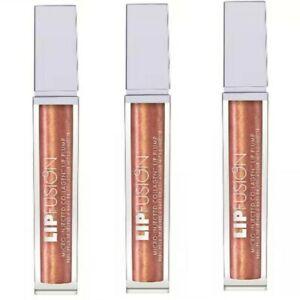 3 Pack Fusion Beauty Lip Fusion Lip Plumper Lip Gloss - CRAVE - .FS / New In Box
