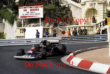 JACKY ICKX WOLF Williams fw05 MONACO GRAND PRIX 1976 fotografia 3