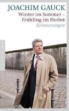 Winter im Sommer - Frühling im Herbst von Joachim Gauck (2011, Taschenbuch)