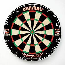 Winmau Diamond Plus Bristle Dart Board, Black