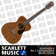 Guild M-120E Natural Mahogany M120E Acoustic Electric Guitar w/Case