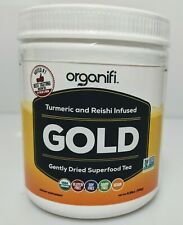 Turmeric and Reishi Infused Gold Superfood Powder by Organifi, 30 servings