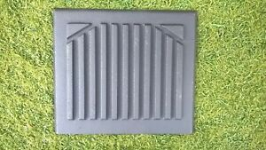 cast iron back plate for fireplace...210mm wide x 185mm height