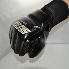 Men Mma Muay Thai Training Punching Bag Half Mitts Sparring Boxing Gloves Gym