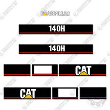 Caterpillar 140H Decal Kit Scraper Equipment Decals Motor Grader 140 H
