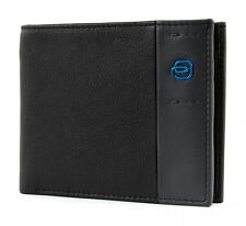 PIQUADRO Men's Wallet Nero