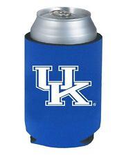 KENTUCKY UK WILDCATS TEAM-COLOR BLUE NEOPRENE CAN DRINK HOLDER WITH UK LOGO