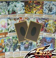 20pcs Yugioh 5D's Anime Style Orica Cards Stardust Dragon Trishula Odin 5ds...