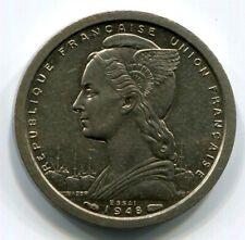 French Equatorial Africa - 1948(a) Franc ESSAI KM#E1 in BU