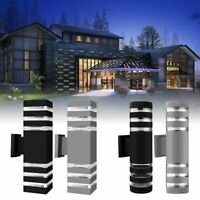 LED Wall Light Fixture Modern Exterior Wall Sconce Waterproof Porch Lamp Outdoor