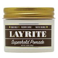Layrite Superhold Pomade 4.25 oz / 120 g