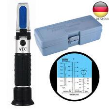 Refraktometer prüfen Kühlwasser Batteriesäure Prüfer Frostschutz Messen KFZ BGS