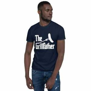 The Grillfather Shirt Gift For Dad Vintage Gift For Men Women Funny Tee