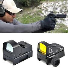 Rifle De Punto Rojo 3 vista Doctor alcance Micro Dot Dot Sight Óptica Holográfica Reflex