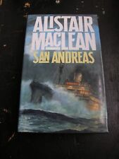ALISTAIR MAcLEAN SAN ANDREAS, FIRST EDITION, 1984 COLLINS ,DUST JACKET,FREE POST