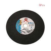Metal Cutting Disc 10 Inch Resin Cut Off Thin Stainless Steel Blade Wheel 5Pcs