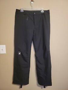 Spyder Women's Black Snow Pants Size 10