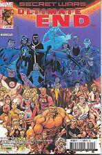 Secret Wars - Ultimate end N°1 - Panini-Marvel Comics - Janvier 2016
