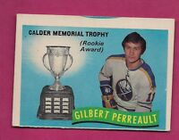1971-72 OPC # 246 SABRES GILBERT PERREAULT  TROPHY GLUE CARD (INV#4459)