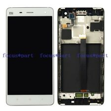 White Touch Digitizer+LCD Display Assembly W/ Frame For Xiaomi MI-4 MI4 M4