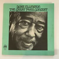 Duke Ellington - The Great Paris Concert - 1973 Vinyl LP Record (Condition VG)