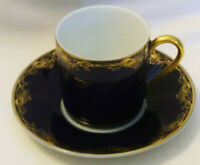 Vintage German Teacup and Saucer - Rosenthal Group/Classic Rose Collection