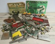 2kg of Vintage Meccano Parts - Plates, Wheels, Gears, Trunnions etc