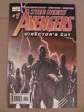 New Avengers #1 Marvel 2005 Series Bendis Finch 9.6 Near Mint+ Director's Cut