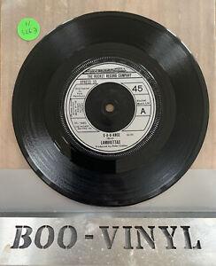 "LAMBRETTAS D-A-A-Ance 7"" VINYL UK 1980 B/w Can't You Feel The Beat Ex"