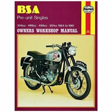 BSA Motorcycle Manuals & Literature