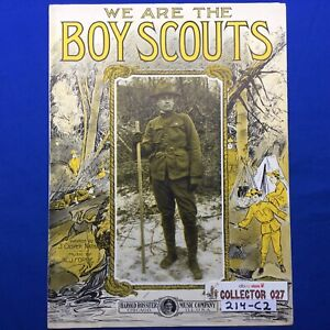 Boy Scout Sheet Music We Are The Boy Scouts Harold Rossiter Music Co