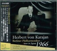 J.S.Bach Brahms Dvorak Karajan Berliner Philharmoniker tour in Japan 1966 CD OBI