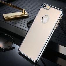 Apple IPHONE 6 Luxe Aluminium Téléphone Portable Etui Coque Arrière en Or