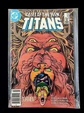 TALES OF THE TEEN TITANS #63 DC COMICS 1986 NM+ NEW TEEN TITAN NEWSSTAND EDITION