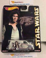Star Wars * 1985 Astro Van * Han Solo * 2015 Hot Wheels Pop Culture * B10