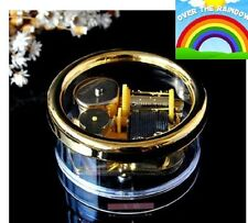 Gorgerous Circle Wind Up Music Box : SOMEWHERE OVER THE RAINBOW