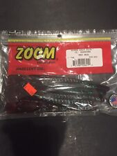 "#008-040 White 20cnt ZOOM 4/"" Split Tail Trailers 2 PCKS"