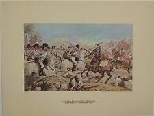 8th Kings Royal Light Dragoons at Laswarree. Richard Simkin. Open Military Print