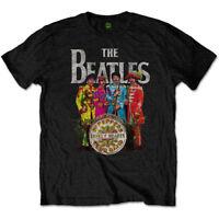 The Beatles Sgt Pepper Official Merchandise T-Shirt M/L/XL - Neu