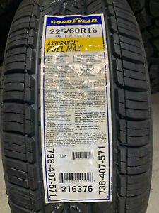 1 New 225 60 16 Goodyear Assurance Fuel Max Tire