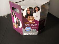 New Conair Pro Style Bonnet Hair Dryer 1875 Watt ~ White ~ Adjustable XL Hood